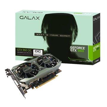 GALAX 影馳 GTX960 OC 2GB GDDR5 顯示卡