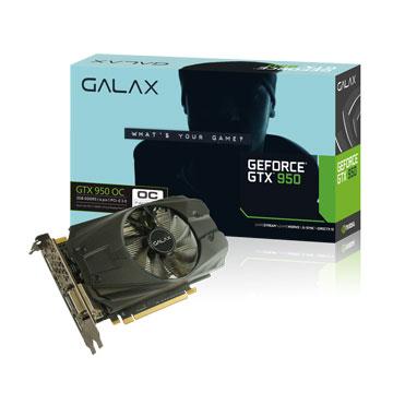 GALAX 影馳 GTX950 OC 2GB DDR5
