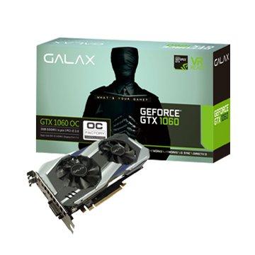 GALAX 影馳 GTX 1060 OC 3GB DDR5顯示卡