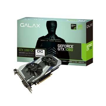 GALAX 影馳 GTX 1060 OC 6GB DDR5顯示卡