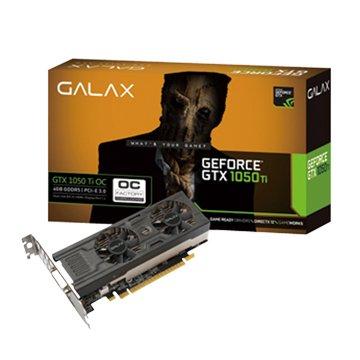 GALAX 影馳 GTX 1050 Ti OC LP 4GB GDDR5(短版雙風