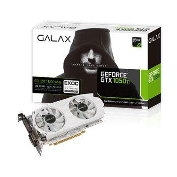 影馳  GTX 1050 Ti EX OC White 4GB(星光折扣)