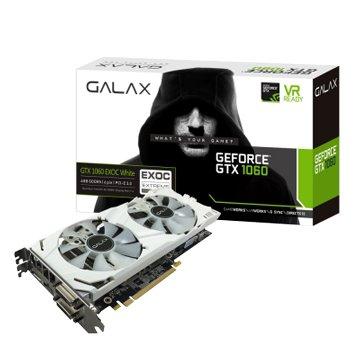 GALAX 影馳 影馳GTX 1060 EX OC 6GB DDR5 WHITE