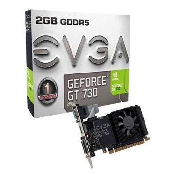 EVGA 艾維克 GT730 2GB GDDR5 64BIT LP PCI