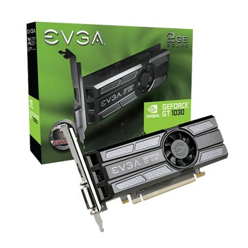 EVGA 艾維克 GT1030 2GB GDDR5 64bit Low P