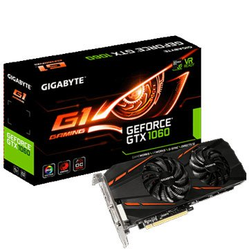 GIGABYTE 技嘉技嘉 GV-GTX1060G1 GAMING-6GD-2 顯示卡