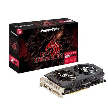撼訊  AXRX 580 8GBD5-DHD/OC RedDragon 8GB