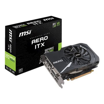MSI 微星 GeForce GTX 1060 AERO 6G OC