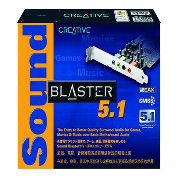 CREATIVE 創新未來 S/B 5.1 音效卡