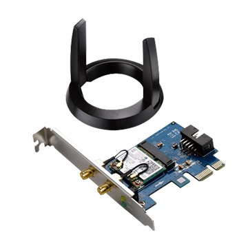 ASUS PCE-AC55BT AC1200雙頻網路適配器