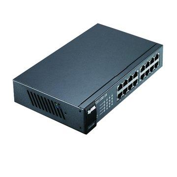 ZyXEL 合勤ES1100-16 16埠節能型SWITCH HUB