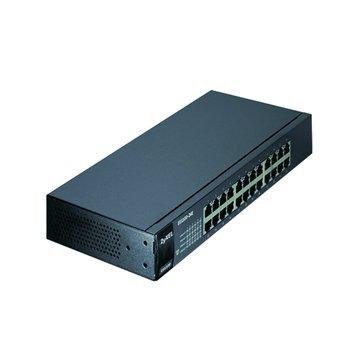ZyXEL 合勤ES1100-24E 24埠節能型SWITCH HUB