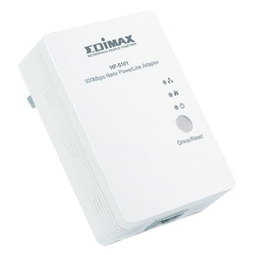 EDIMAX 訊舟 HP-5101電力線網路橋接器500M
