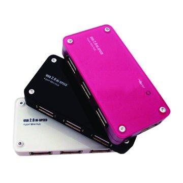 aibo Y035 4埠粉彩USB2.0 HUB