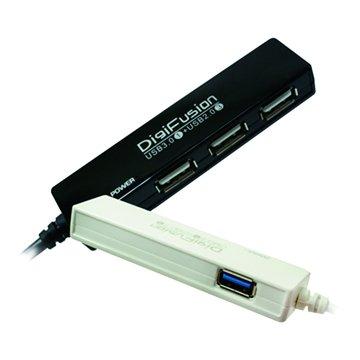 GALILEO 伽利略U1 3埠USB2.0+1埠USB3.0  HUB