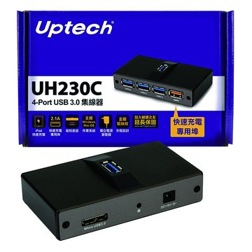 Uptech UH230C 4埠USB3.0 HUB