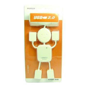 vision 創視 幸福娃娃4埠USB2.0 HUB