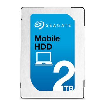 Seagate 希捷 2TB 2.5吋 128MB 5400轉 SATAIII 裝機硬碟(ST2000LM015-2Y/P)