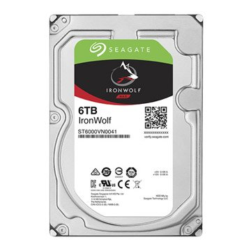 Seagate 希捷 6TB 3.5吋 128M 7200轉 SATAIII NAS硬碟(ST6000VN0041-3Y)