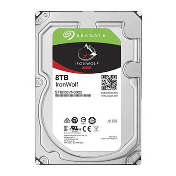 Seagate 希捷 8TB 3.5吋 256M 7200轉 SATAIII NAS硬碟(ST8000VN0022-3Y)