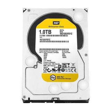 WD 威騰1TB 3.5吋 64MB 7200轉 SATAIII RE企業級硬碟(WD1003FBYZ)
