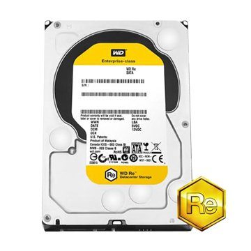 WD 威騰 1TB/SATA3/128M/RE企業級/5年硬碟
