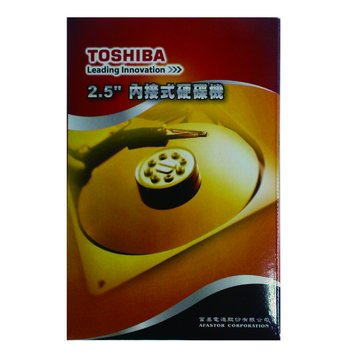 TOSHIBA 東芝 500GB 2.5吋 8MB 7200轉 SATAII 裝機硬碟(MK5061GSYN)