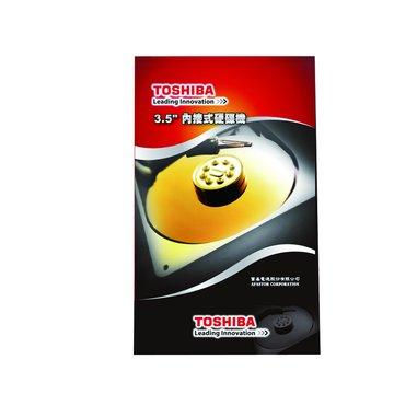 TOSHIBA 東芝 2TB 3.5吋 64MB 7200轉 SATAIII 裝機硬碟(DT01ACA200)