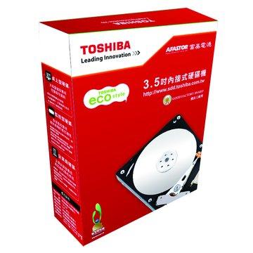 TOSHIBA 東芝3TB 3.5吋 32MB 5700轉 SATAIII 影音監控硬碟(DT01ABA300V)
