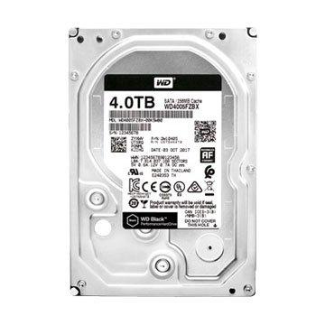 WD 威騰 4TB 3.5吋 256MB 7200轉 SATAIII 黑標硬碟(WD4005FZBX-5Y/P)