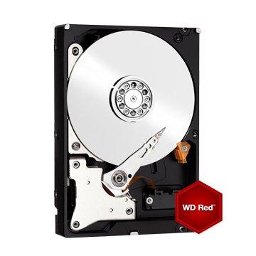 WD 威騰4TB 3.5吋 64MB SATAIII NAS硬碟(WD40EFRX-3Y/P)