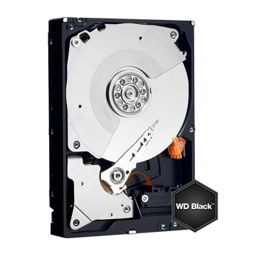 WD 威騰 6TB 3.5吋 128MB 7200轉 SATA 黑標硬碟(WD6001FZWX)