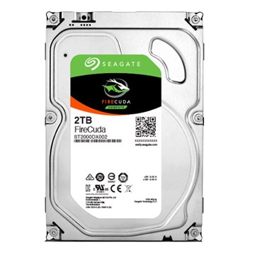Seagate 希捷 2TB 3.5吋 64M 7200轉 SATAIII混合硬碟(ST2000DX002-5Y/P)