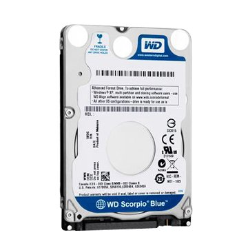 WD 威騰 1TB 2.5吋 128MB 5400轉 SATAIII 藍標硬碟(WD10SPZX)