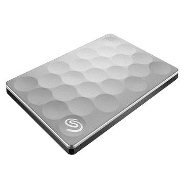 Seagate 希捷Backup Plus Ultra Slim 2TB 2.5吋 外接硬碟-白金