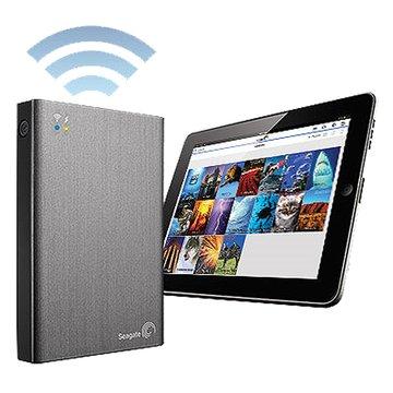 Seagate 希捷 Wireless Plus 無線 2TB 2.5吋 外接硬碟-灰