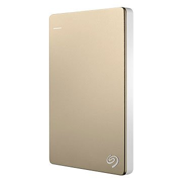 Seagate 希捷 Backup Slim 2TB 2.5吋 外接硬碟-金