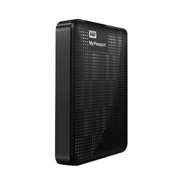 WD 威騰 My Passport Essential 500GB 2.5吋 外接硬碟-黑