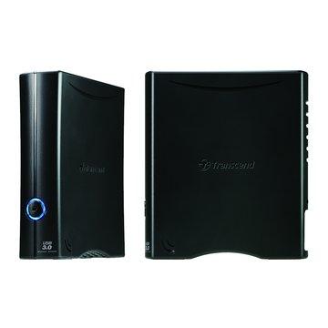 Transcend 創見 StoreJet 35T3 3TB 3.5吋 外接硬碟-黑