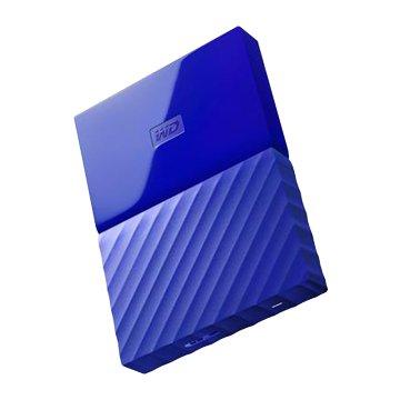 WD 威騰 My Passport WESN 1TB 2.5吋 外接硬碟-藍