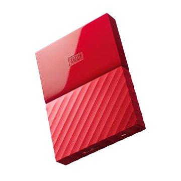 WD My Passport WESN 1TB 2.5吋 外接硬碟-紅