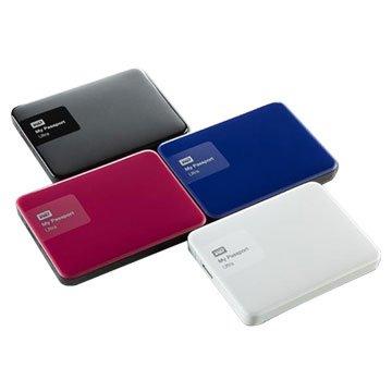 WD 威騰My Passport Ultra 2TB 2.5吋 外接硬碟-紅