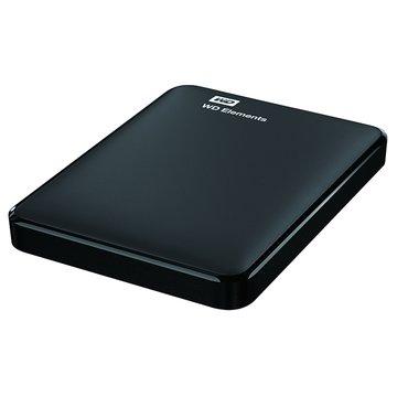 WD 威騰Elements 1TB 2.5吋 外接硬碟-黑