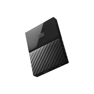 WD 威騰My Passport WESN 2TB 2.5吋 外接硬碟-黑(薄型)