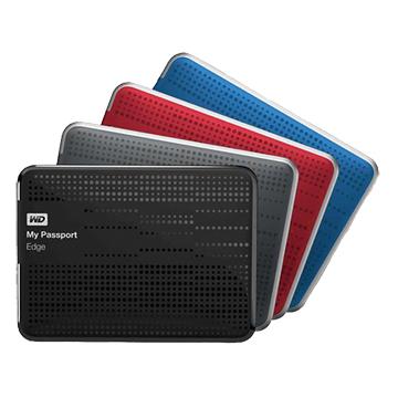 WD 威騰 My Passport Ultra 1TB 2.5吋 外接硬碟-紅