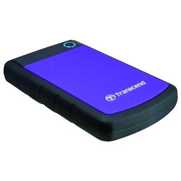 Transcend 創見StoreJet 25H3 軍規防震 1TB 2.5吋 外接硬碟-紫