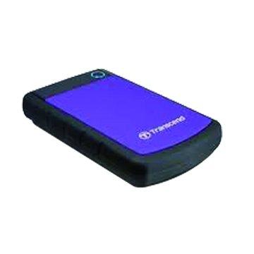 Transcend 創見 StoreJet 25H3 軍規防震 500GB 2.5吋 外接硬碟-紫