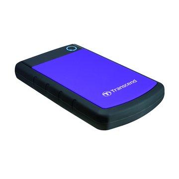 Transcend 創見 StoreJet 25H3 軍規防震 1.5TB 2.5吋 外接硬碟-紫
