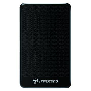 Transcend StoreJet 25A3 防震 1TB 2.5吋 外接硬碟-黑