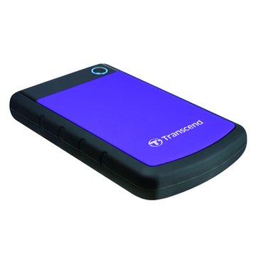 Transcend 創見StoreJet 25H3 軍規防震 2TB 2.5吋 外接硬碟-紫